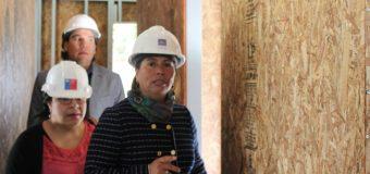 Concelaja Añual valora avance de obras en Jardín Infantil de Liquiñe