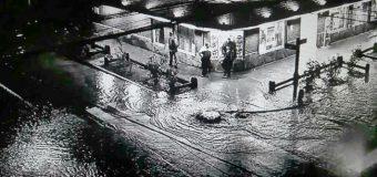 Noche crítica por inundaciones en la ciudad