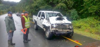 Detenido joven conductor tras accidente bajo efectos del alcohol en Pullinque