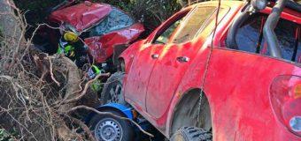 Accidente entre camionetas en remolque deja dos heridos en ruta Los Lagos – Panguipulli