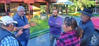 Concejala Añual fiscaliza trabajos de Empresa Global Trancura en zona interior