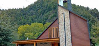 Comunidad de Choshuenco inauguró nueva capilla