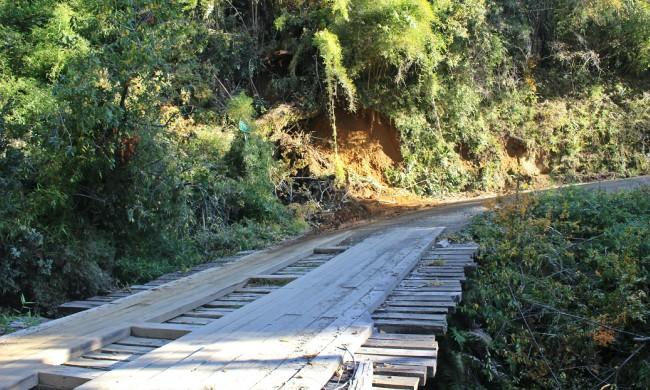 Parte de la ruta a intervenir | Víctor Rebolledo