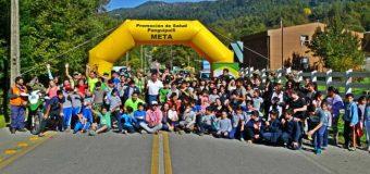 En Liquiñe, realizaron exitosa corrida en honor al aniversario de Carabineros