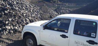 Municipio suspendió permiso de extracción de áridos en Río Llancahue de Coñaripe