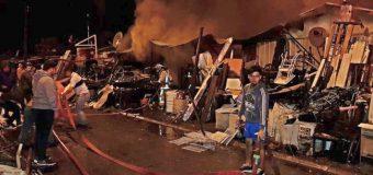 Al menos 11 damnificados tras incendio de varias viviendas en población 11 de Septiembre en Los Lagos