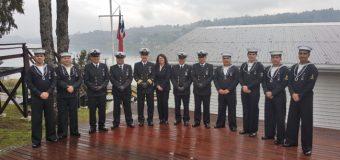 Efectivos de la Armada en Panguipulli conmemoraron bicentenario y aniversario del Combate Naval