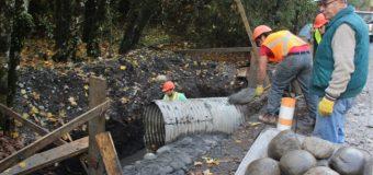 Constatan estado de avance de trabajos en ruta Malchehue – Cultruncahue