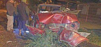 Conductor bajo efectos del alcohol protagoniza accidente en calle de Coñaripe