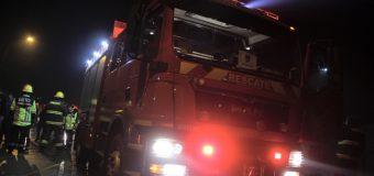 Llegó moderno carro de rescate a Bomberos de Panguipulli
