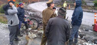 Familia que cortó el tránsito en Coñaripe, acusa a empresa Copcisa por no pago de dineros