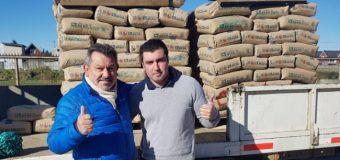 Core Marco Cortéz cumple compromiso con club Juventud de Liquiñe
