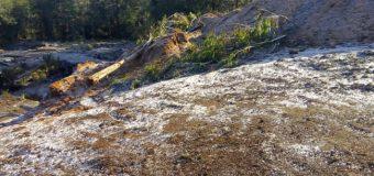 Dirigente mapuche denuncia destrucción de espacio ceremonial en Trafún