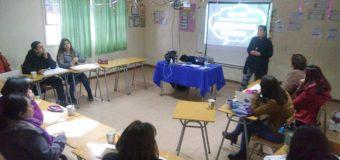 Docentes y para-docentes de Escuela Pampa Ñancul se capacitan en métodos de inclusión