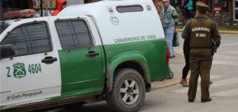 8 Detenidos: cortes de ruta, saqueos, incendios intencionales y ataques a Carabineros y a Bomberos
