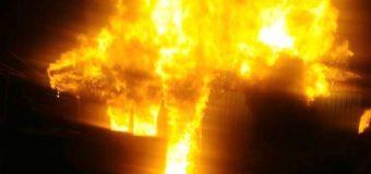 Incendio en las cercanías de Liquiñe deja 5 damnificados