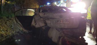 Accidente en ruta Lanco – Panguipulli deja 4 heridos