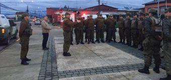 Ronda policial masiva en Lanco deja 3 detenidos