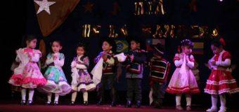 """Con coloridos bailes celebraron el """"día de la Bandera"""" en la Escuela Rayito de Luz"""