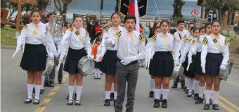 Choshuenco cumplió con tradicional acto patriótico