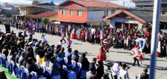 4 Horas y al menos 2000 participantes. Este Jueves se realizó Desfile Patrio en la ciudad