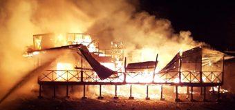 Gran incendio en condominio de Palguín habría sido intencional