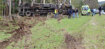 Al menos un herido dejó accidente en sector Dollinco