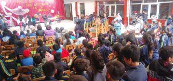 Escuela de Huellahue reconoció a Asistentes de la Educación en su día