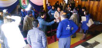 Comunidades de Pilinhue se reúnen con Intendente Asenjo