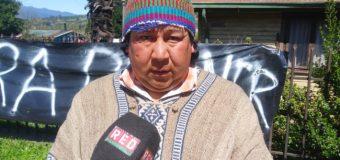 """Werkén de Pilinhue: """"No daremos pie atrás hasta paralizar el proceso de adquisición de tierras"""""""