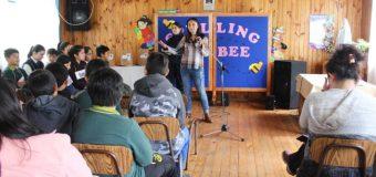 Escuela Pampa Ñancul realizó torneo para fomentar práctica de inglés entre estudiantes