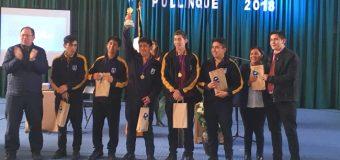 Liceo PHP de Pullinque fue sede del 3° Debate Interescolar 2018