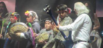 Papagenitos fueron protagonistas en las celebración de los 55 años de Los Jaivas