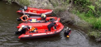 Gersa de Panguipulli se sumó a rastreo de pescador desaparecido en Río San Pedro