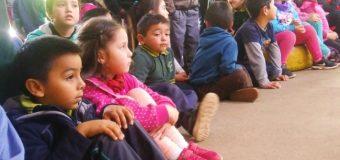 Coronando Reina y Rey, Escuela Pampa Ñancul finaliza el viernes su semana del párvulo