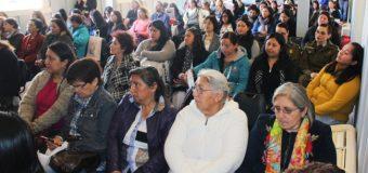 """Más de 100 mujeres de la zona fueron parte del seminario """"Mujer, Participación y Liderazgo"""""""