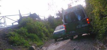 Sujetos incendiaron vivienda en sector alto de Panguipulli. Vecinos reportaron disparos