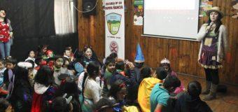 "Escuela Pampa Ñancul refuerza valores con ""Fiesta de la Luz"""