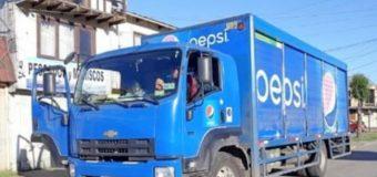 Descuido permitió que sujetos huyeran con más de $2mill desde camión de bebidas en Los Lagos