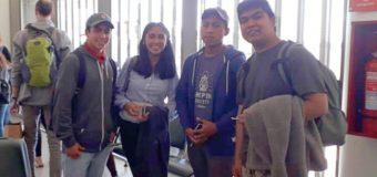 Estudiantes del Liceo Bicentenario PHP de Pullinque viajan a Nueva Zelanda para practicar el idioma inglés