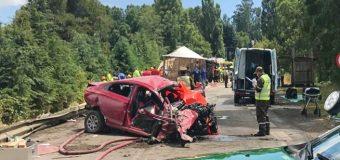 Confirman que uno de las 9 víctimas de accidente en Máfil era de Panguipulli