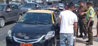 Taxistas y turistas protagonizaron violenta riña en el centro de la ciudad. Hubo 4 detenidos