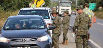 Estado de Excepción: Ejército continuará apoyando labores de seguridad hasta la primera semana de marzo