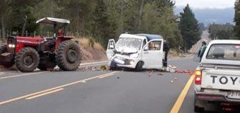 Accidente en Punahue dejó al menos un lesionado