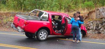 Ruta Ch-203 | Carabineros llama a la precaución tras accidente en Cuesta Toledo