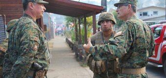"""Patrulla Militar fue """"atacada"""" en Pullinque. Un sujeto fue detenido por el Ejército"""