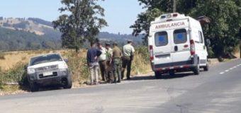 Ambulancia del hospital colisionó en Melefquén durante traslado de pacientes