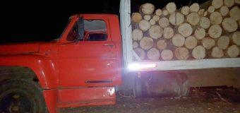 Tres sujetos fueron detenidos en Los Lagos por robo de madera