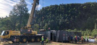"""Confirman que """"mega generadores"""" quedarán de manera permanente en Neltume"""