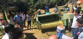 Cooperativa de Pullinque recibió maquinaria agrícola
